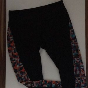 LuLaRoe Jordon athletic leggings. M
